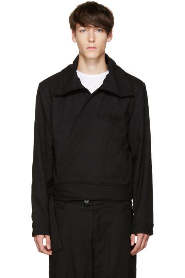 Telfar - Black Wrap Jacket