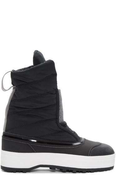 adidas by Stella McCartney - Black Nangator 3 Winter Boots