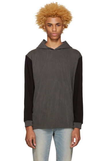 Noon Goons - SSENSE Exclusive Black 'Surf Riot' Hoodie