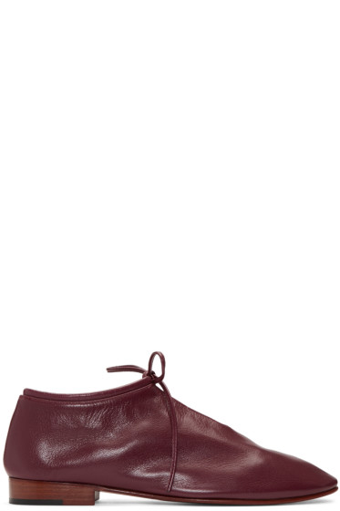 Martiniano - Burgundy Bootie Oxfords