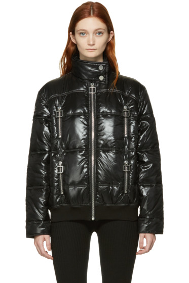 Courrèges - Black Quilted Jacket