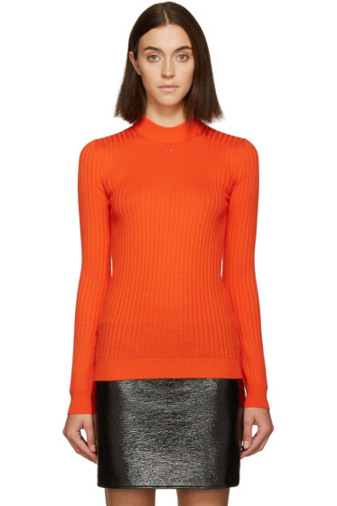 Courrèges - Red Classic Ribbed Pullover