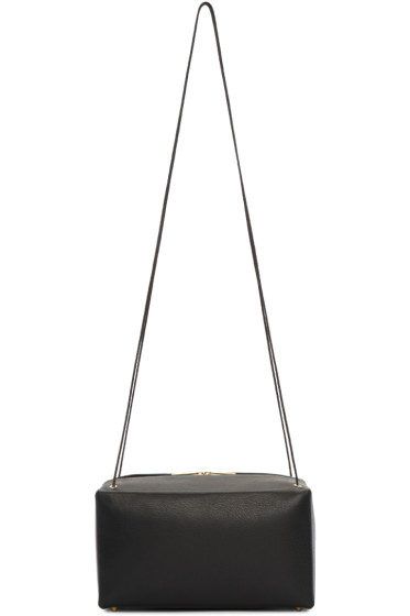 Tsatsas - Black Leather Linden Bag