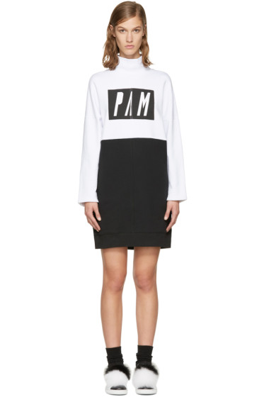 Perks and Mini - White & Black 'Call Me' Dress