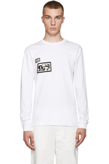 Perks and Mini - White Psilocybe Patch T-Shirt
