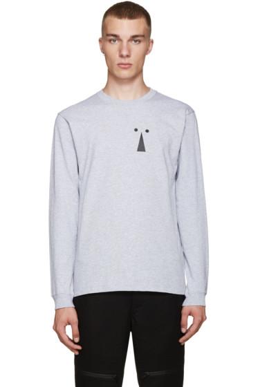 Perks and Mini - Grey Keyhole T-Shirt