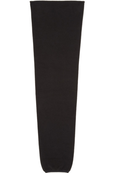 Ganryu - Black Fleece Scarf