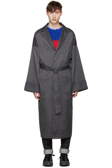 Ganryu - Grey Oversized Coat
