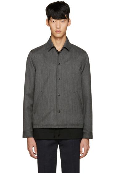 Ganryu - Grey Wool Jacket