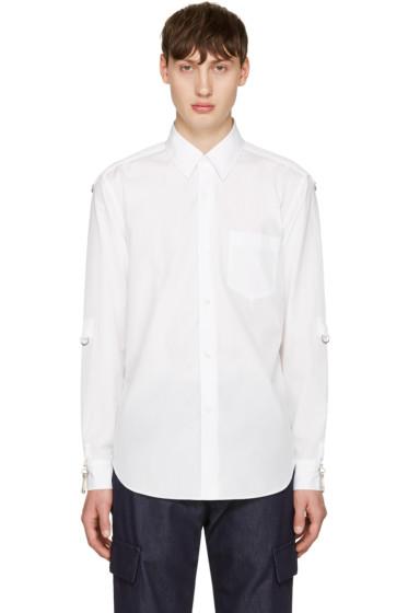 Ganryu - White D-Rings Shirt