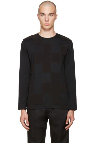 Ganryu - Black Panelled T-Shirt