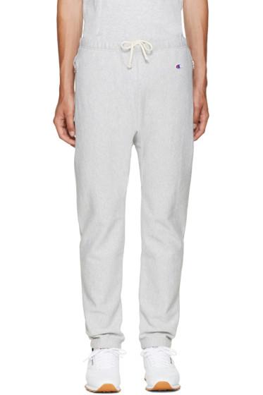 Champion x Beams - Grey Reverse Weave Lounge Pants