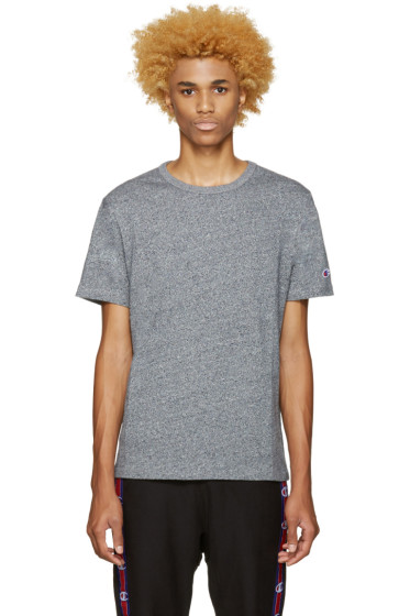 Champion Reverse Weave - Navy Speckled Jersey T-Shirt