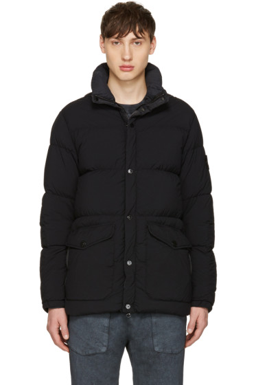 Stone Island - Black Down Puffer Jacket