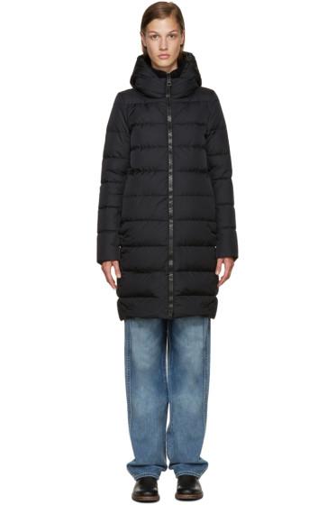 Herno - Black Polar Tech Down Jacket