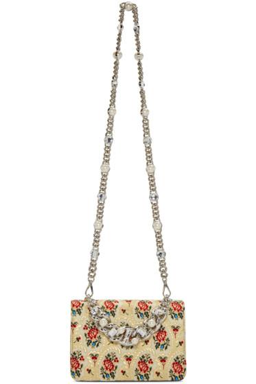 Miu Miu - Gold Tapestry Bag
