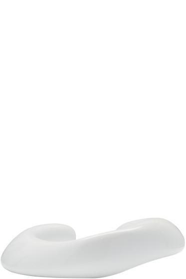 Ribeyron - White Large Organic Bracelet
