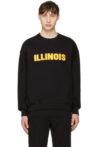Richardson - Black Illinois Pullover