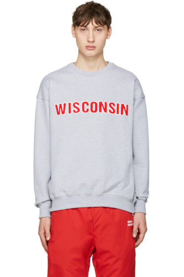 Richardson - Grey Wisconsin Pullover