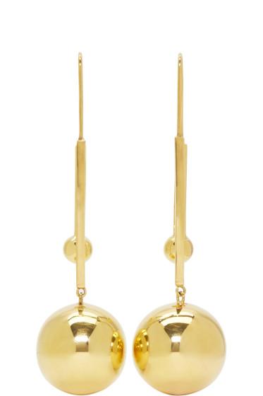 Prim by Michelle Elie - Gold Vici 25 Earrings