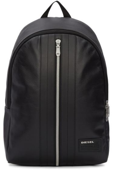 Diesel - Black L-Back Round Backpack