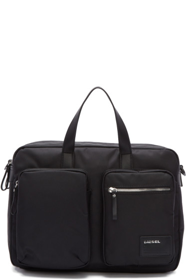 Diesel - Black Crash Briefcase