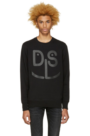 Diesel - Black S-Joe-Mb Sweatshirt