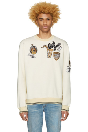 Dolce & Gabbana - Ivory 'Good Times' Pullover