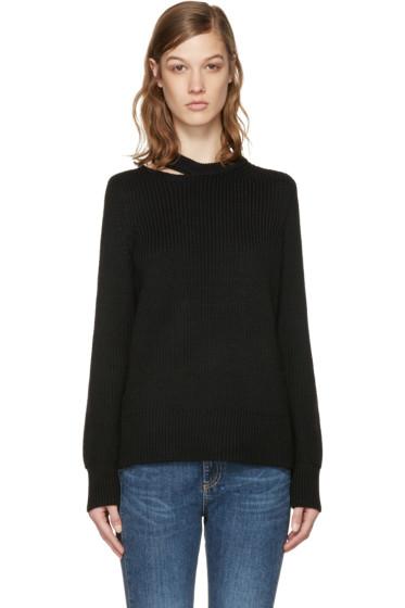 Rag & Bone - Black Ginne Cut-Out Pullover