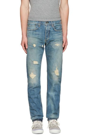 Rag & Bone - Blue Standard Issue Fit 2 Jeans