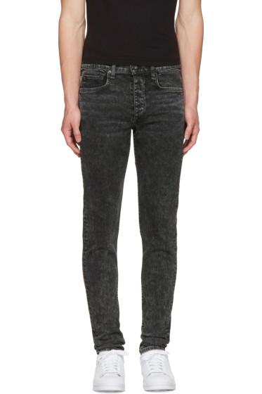 Rag & Bone - Black Standard Issue Fit 1 Jeans