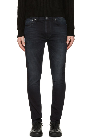 Nudie Jeans - Black Lean Dean Jeans