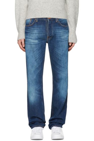 Nudie Jeans - Indigo Loose Leif Jeans