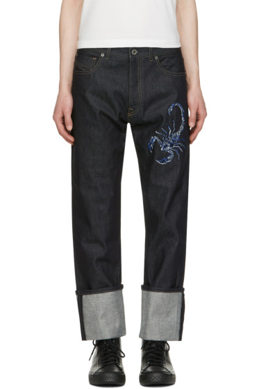 Diesel Black Gold - Blue Scorpion Jeans