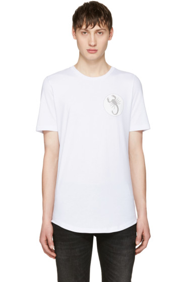 Diesel Black Gold - White Scorpio T-Shirt