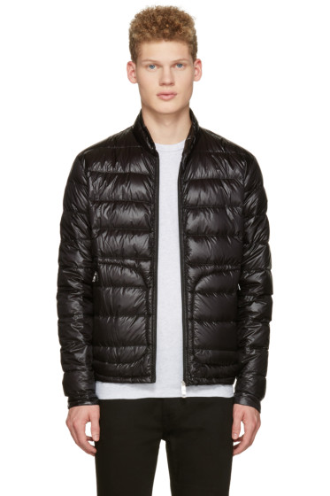 Moncler - Black Down Acorus Jacket