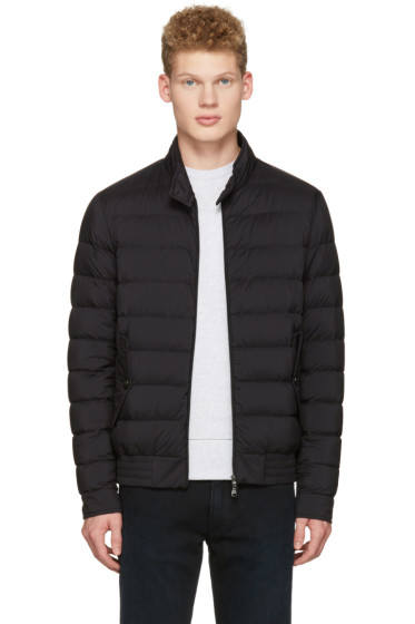 Moncler - Black Down Ignace Jacket