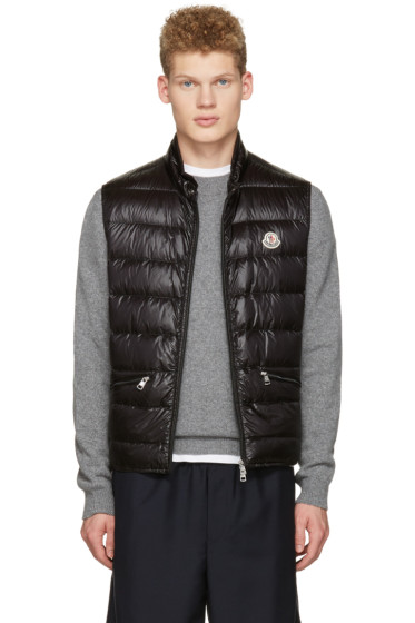 Moncler - Black Down Gui Vest