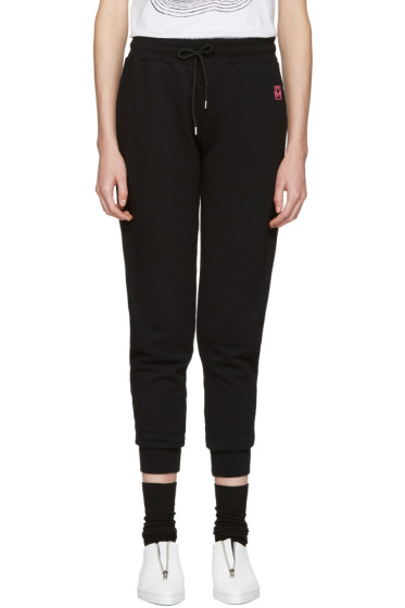McQ Alexander Mcqueen - Black Slim Lounge Pants