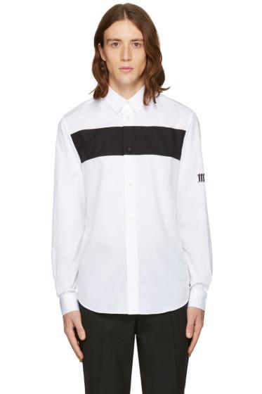 McQ Alexander Mcqueen - White Shields Pop Shirt