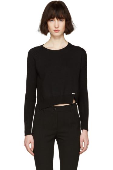 Dsquared2 - Black Short Slit Sweater