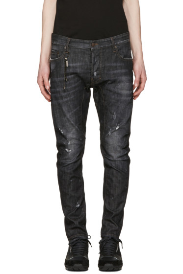 Dsquared2 - Black Tidy Biker Jeans