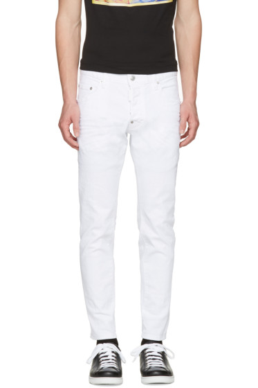 Dsquared2 - White Skater Jeans