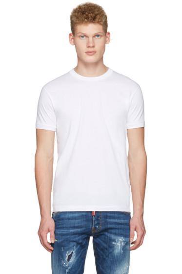 Dsquared2 - White Dan Fit T-Shirt