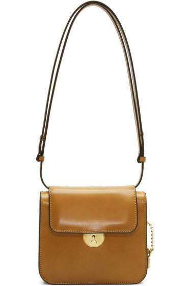 Maison Margiela - Brown Leather Shoulder Bag