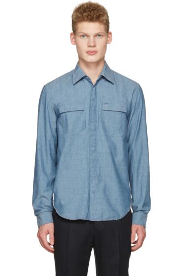 Maison Margiela - Indigo Chambray Shirt