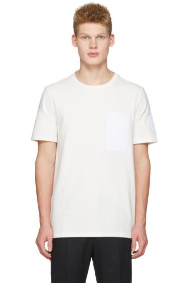 Maison Margiela - Off-White Velcro Patch T-Shirt