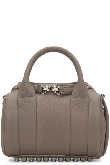 Alexander Wang - Grey Mini Rockie Bag