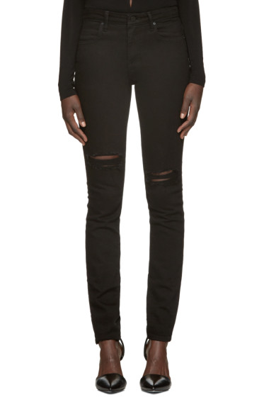 Alexander Wang - Black Destroyed Jeans