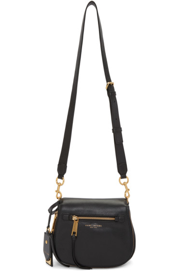 Marc Jacobs - Black Small Recruit Nomad Saddle Bag